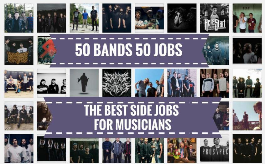 50 of The Best Jobs For Musicians and Bands - List