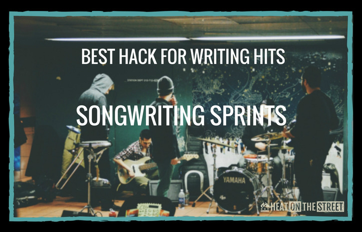 songwriting tips sprints heat on the street music marketing