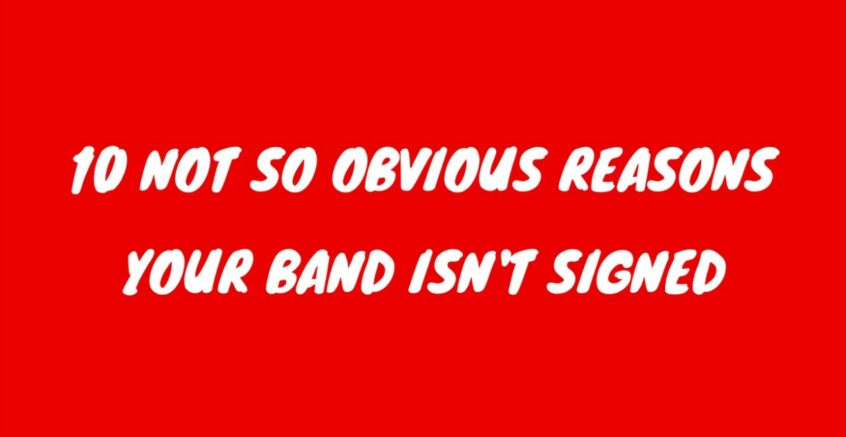 10 reasons band wont get signed heat on the street music marketing