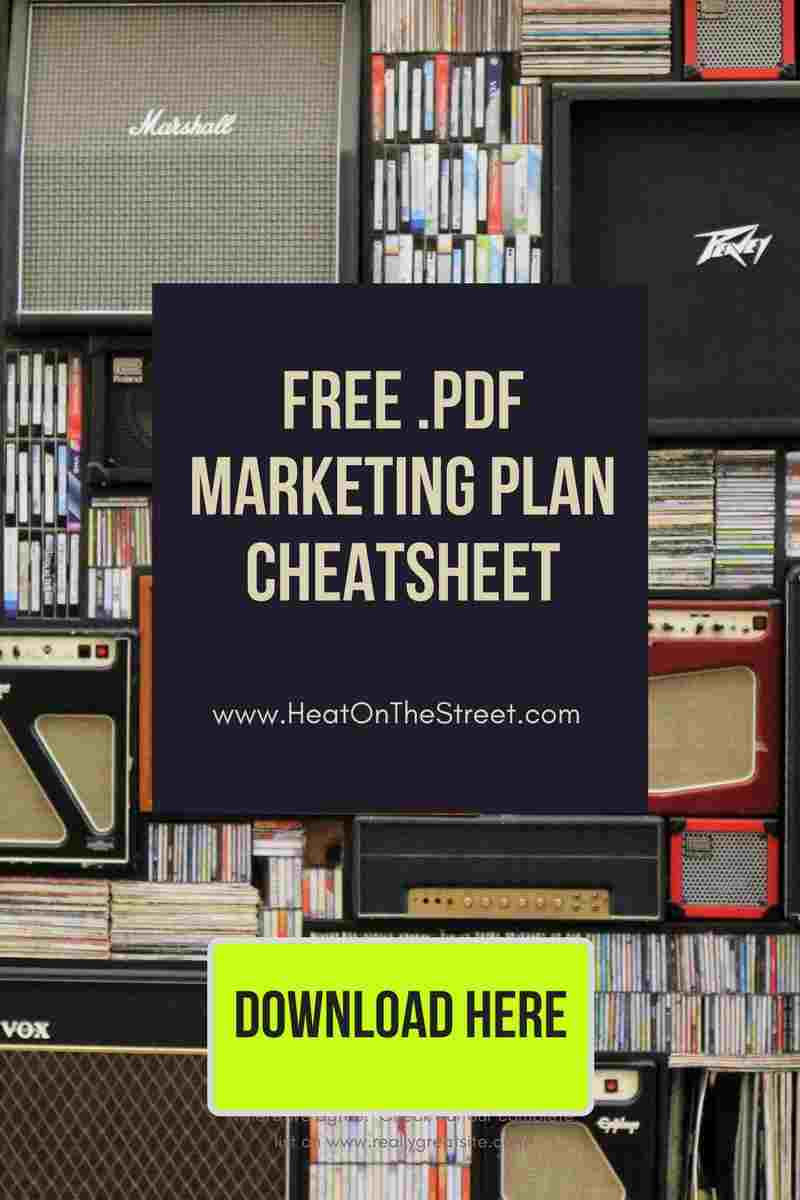 free download marketing plan cheat sheet