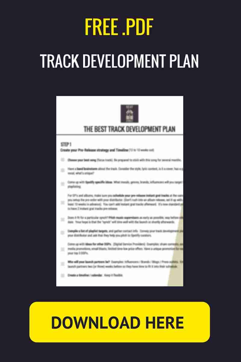 free download track development plan