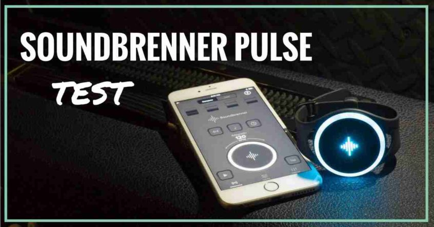 soundbrenner pulse test wearable metronome gifts for musicians