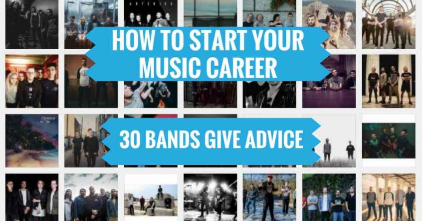 how to start a music career heat on the street