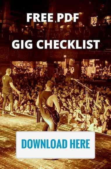free pdf gig checklist