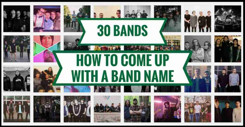 how to come up with a band name heat on the street music marketing