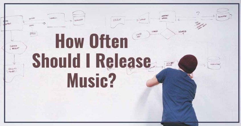 how often should i release music